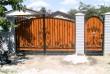 Изготовление металлических  ворот.