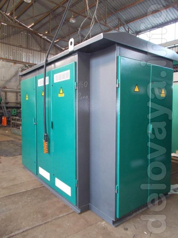 Підстанції трансформаторні комплектні тупикові КТПп потужністю 25-630