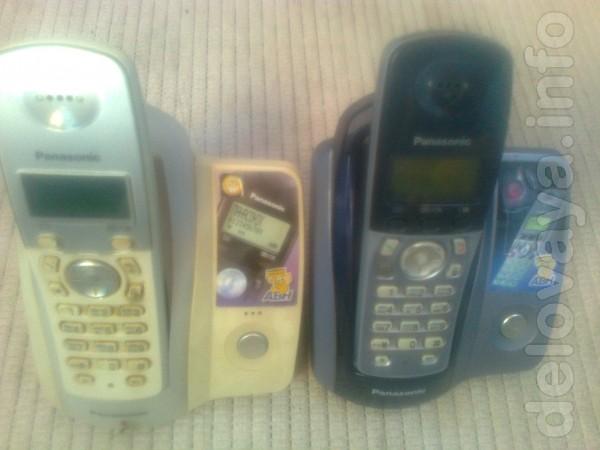 Радиотелефоны Panasonic KX-TCD 215 UA , KX-TCD 205 UA в хорошем состо