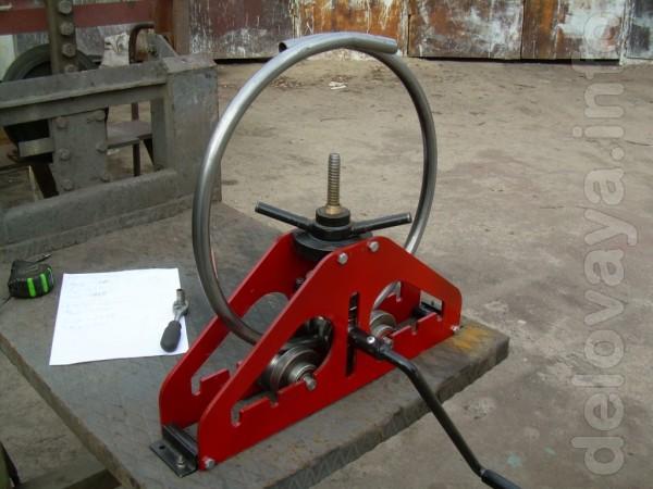 Трубогиб прокатный роликовый ручной универсальный для профильных и дл