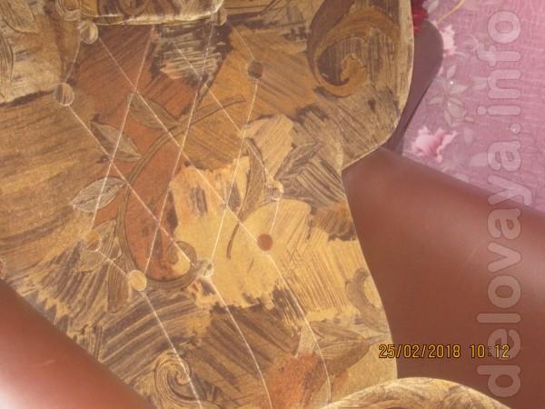 Одно кресла, форма лотос цена-700 гр.