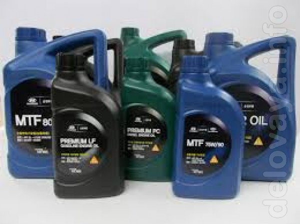 Оригинальные масла Kia, Hyndai, Mobis в наличии и под заказ. Магазин