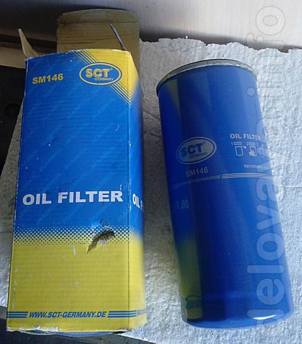 Фильтр масляный sct Germany, Номер - SM 146, новый. Характеристики: В