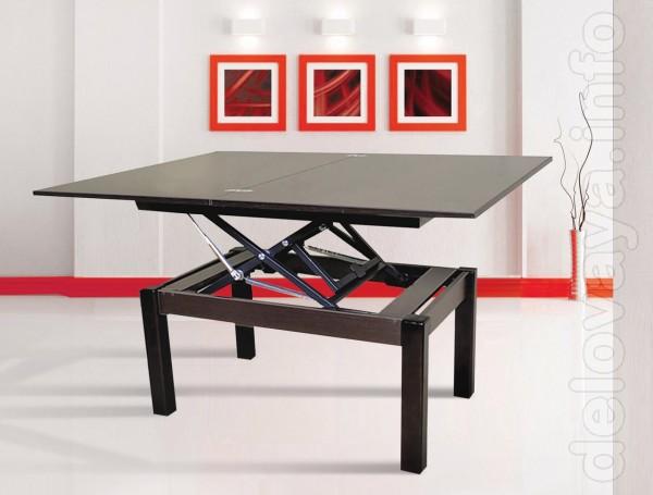 Многофункциональные столы. 4 положения. Столешница- ДСП, ножки - масс