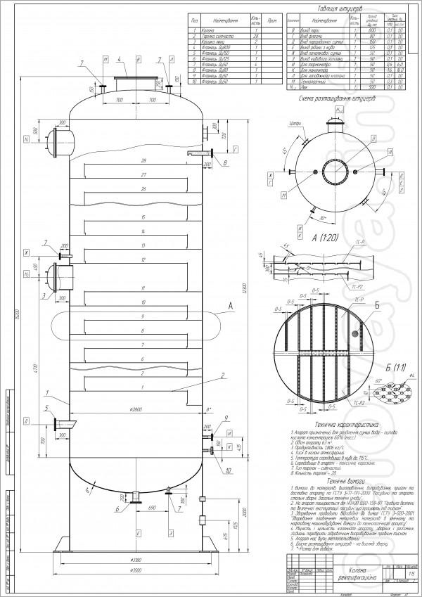 Разработка чертежной документации в программе Компас (Металлоконструк