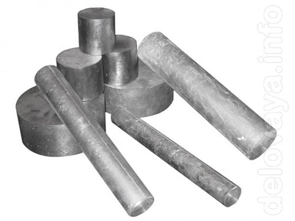 Кругляк алюминиевый разных диаметров. Длина брусков 290 мм, возможна