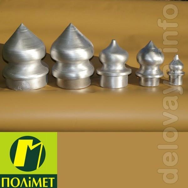 Алюминиевые наконечники для металлических заборов и оград разных разм