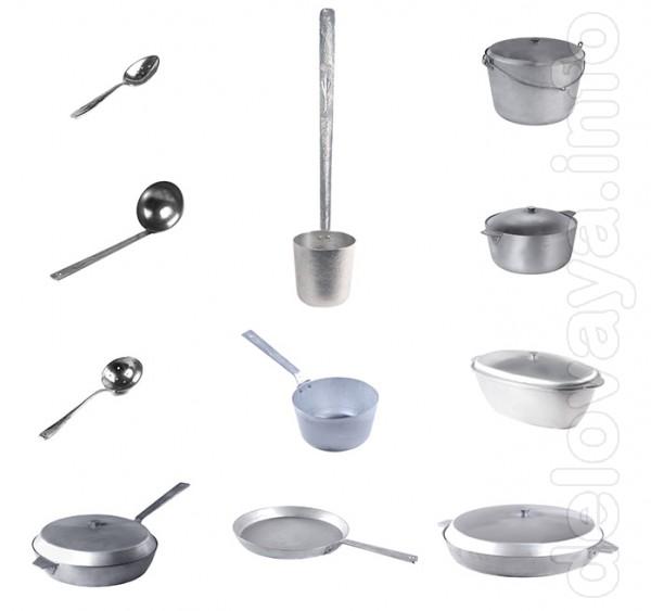Сковороды и сотейники, кастрюли и гусятницы, черпаки, ковши и шумовки