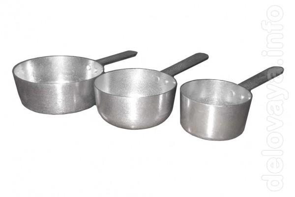 Кокотницы для жульена алюминиевые  разных размеров. Надежная и доброт
