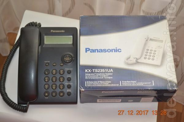 Интегрированный телефон. аппарат «Panasonic» с определителем. Цифров