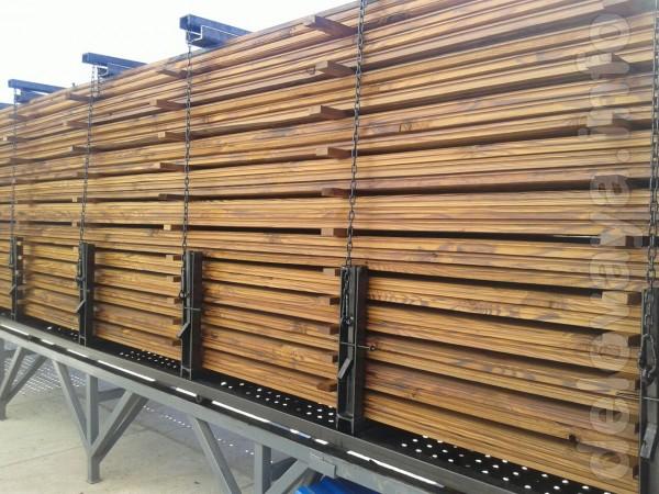 Термо модификация древесины происходит в насыщенной паровой среде при