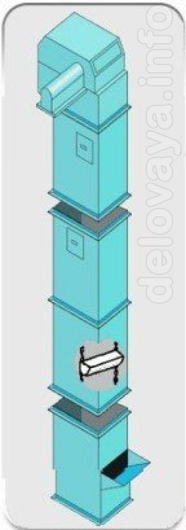 Элеваторы ковшовые предназначены для транспортирования в вертикальном