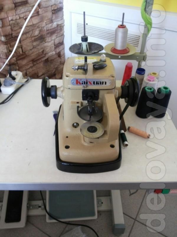 Продам промышленную скорняжную швейную машину для сшивания меха.Новая