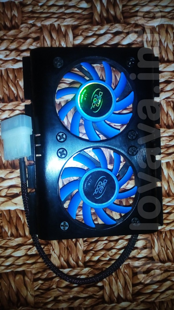 Вентилятор к HDD Deepcool ICEDISK 2 - это низкопрофильная система акт