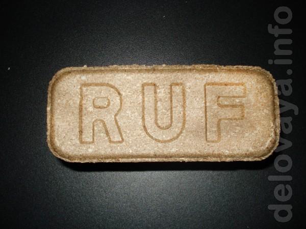 Топливные дубовые древеснопилочные брикеты RUF — широко применяются к