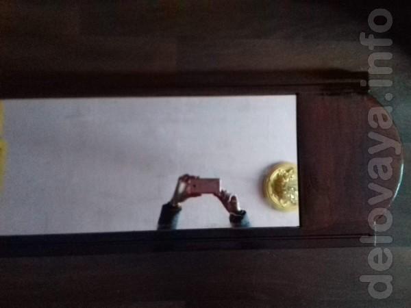 Зеркало б\у с рамой дл-с рамой 153-154 шир-40-42 подайдёт в прихожку