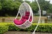 Невероятно удобное и красивое подвесное кресло кокон.  Кресло выполне фото № 4