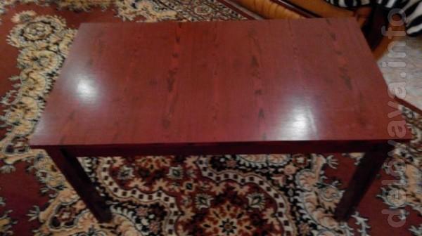 Продам журнальный столик тёмной полировки в хорошем состоянии - 250 г