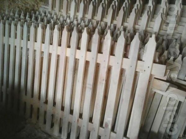 Изготовим заборы из штакетника любой высоты и длинны,доставка по реги
