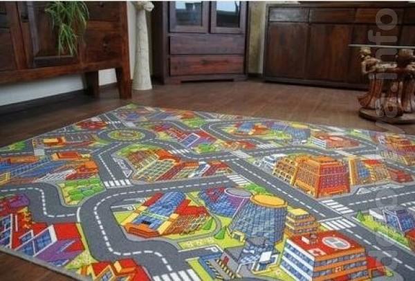 Дитячий килим Big City будь-якого розміру за найкращою ціною в Україн