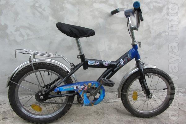 Продам велосипед,в хорошем состоянии. На возраст 6-10 лет. Колеса 16