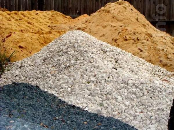 Продажа и доставка: песка, перегноя, щебня, кирпича (новый и б/у), шл