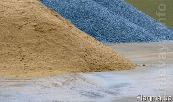 Песок щебень!