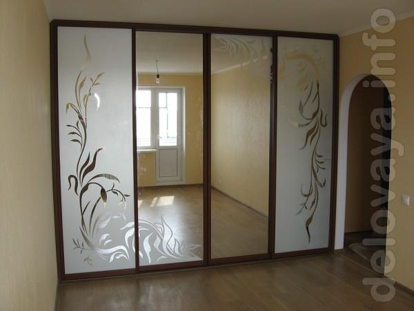ЧП.Изготовление мебельных фасадов под заказ раздвижных дверей в алюми
