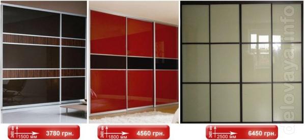 ЧП. Производим мебельные фасады для шкафов - купе, гардеробных. встро
