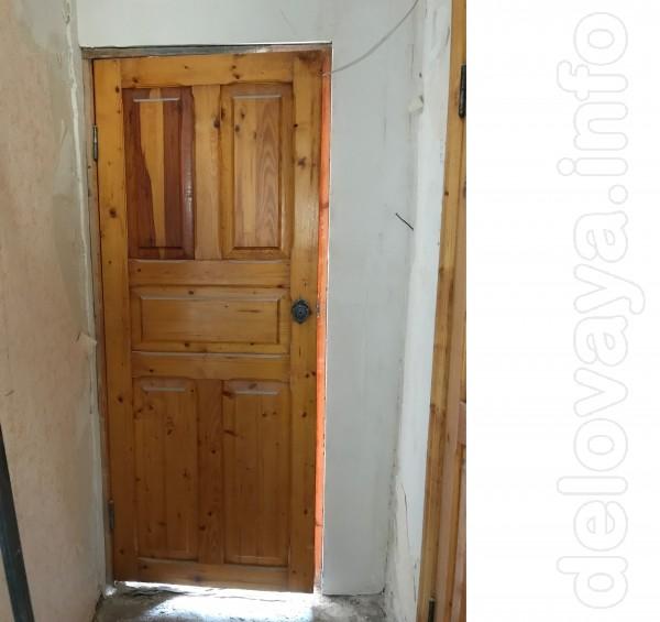 Продаются деревянные межкомнатные двери(лутки+обналичники)б/у в норма