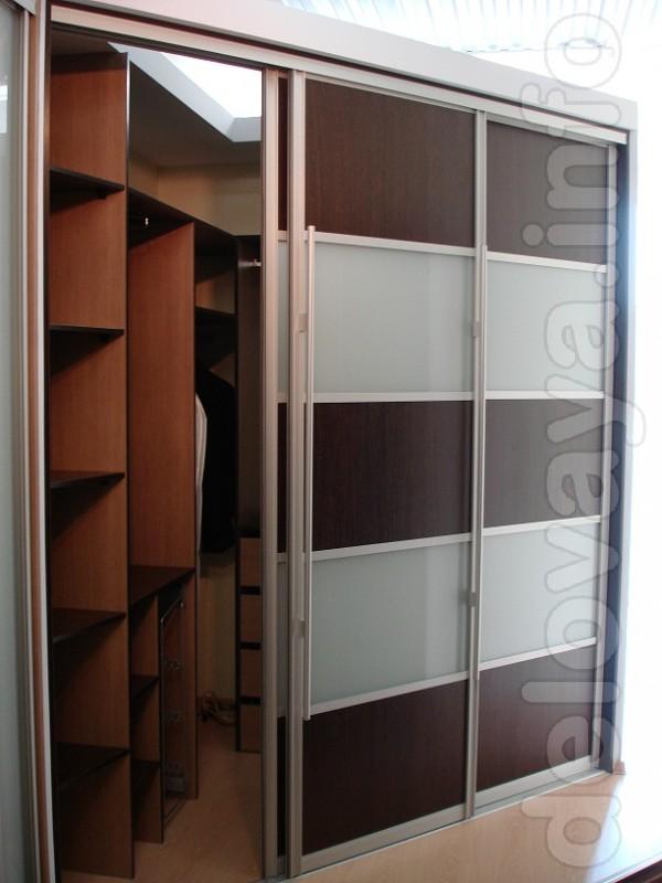 ЧП.Изготовит Шкафы-купе,гардеробные комнаты под заказ или по индивиду