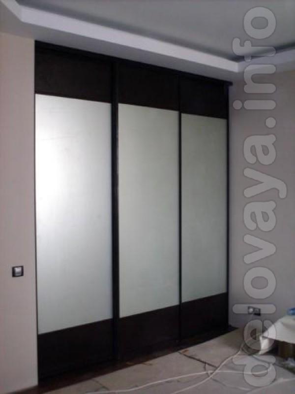 ЧП.Мы производим мебельные фасады в алюминиевом профиле для шкафа-куп
