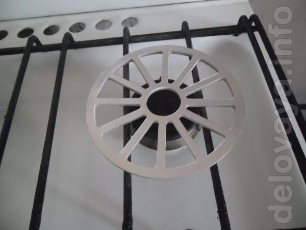 Накладка для газовой плиты, наружный диаметр 135 мм, толщина 4 мм,