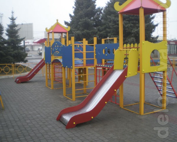 Предлагаем детские игровые площадки от производителя в Сумах. Наличие