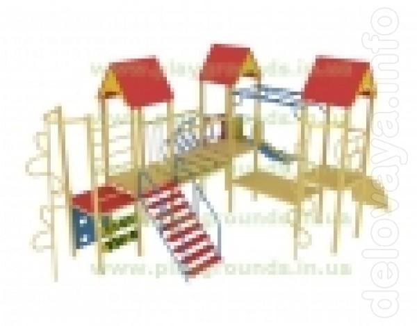 Современные качественные игровые комплексы и детские площадки для игр