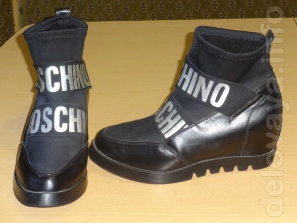 Подростковые ботинки,мало б,у, ни царапинки.35 размер.