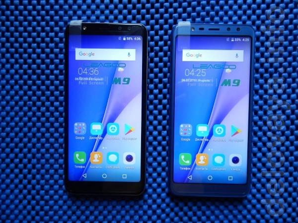 Телефон - Новый ОC: Android 7.0 (Leagoo OS 3.0 Lite ). Экран 5,5' IPS