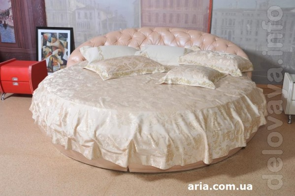 Распродажа коллекции круглых кроватей от Roberto Pollini! Производит