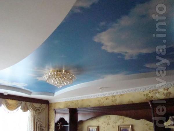 ЧП.Установим натяжной потолок любой сложности от 180 грн. (в квартире