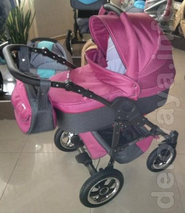Продается детская коляска Saturn Len 2в1,(дождевик+москитка в комплек
