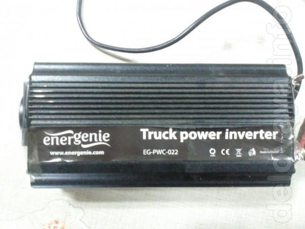 Автомобильный инвертор EnerGenie EG-PWC-022 Напряжение на входе: 24 В