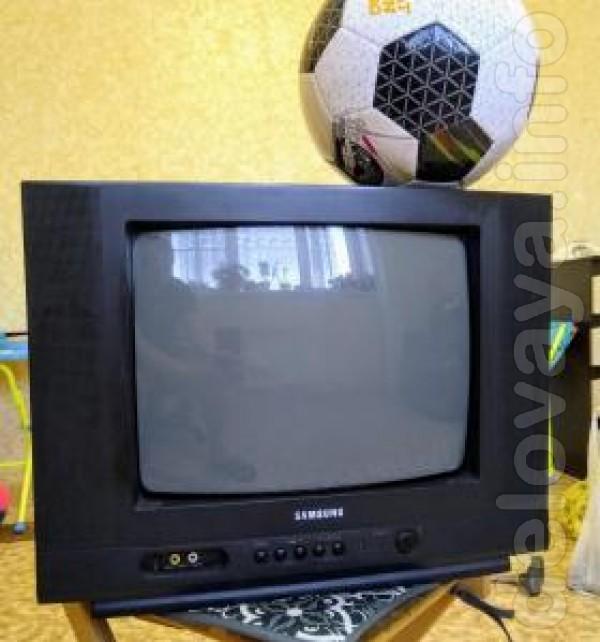 Телевизор Samsung-CS14H4S, диагональ экрана 14 дюймов (37 см). С доку
