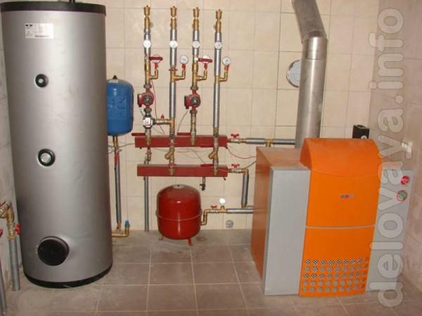 Ремонт газовых котлов и газовых колонок