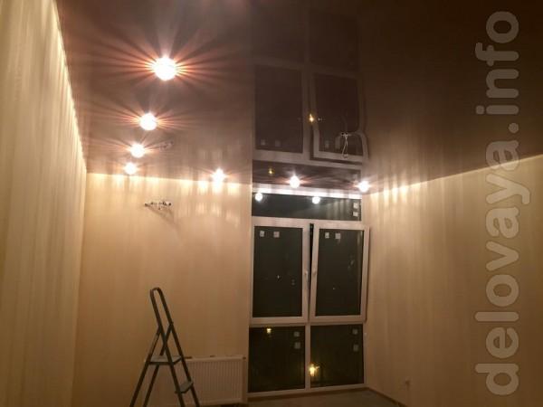 ЧП.Установим натяжные потолки любой сложности, цветовой гаммы и рисун