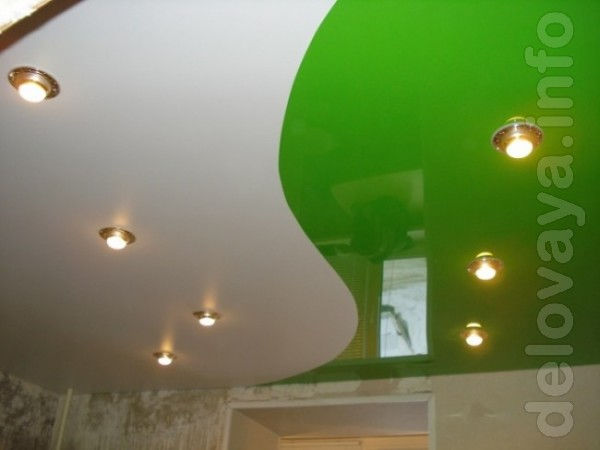 ЧП.Установим натяжной потолок любой сложности в квартире, в частном д