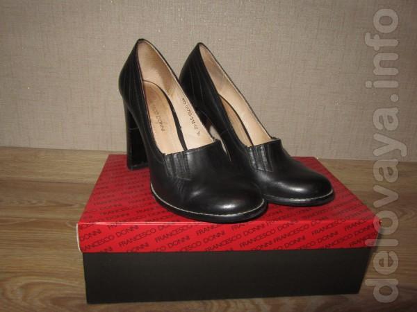 Продам туфли , кожа , размер 37 , цена 150 гривен .