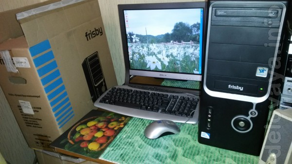 Подаю компьютеры (3-комплекта.) ;   Компьютер 2-х ядерн. HDD-500гб