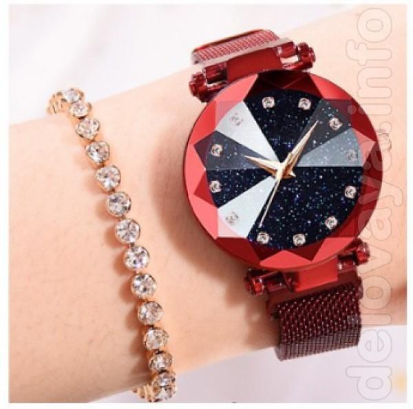 Изысканый дизайн женских часов Starry Skay Watch ,на сегоднишний день