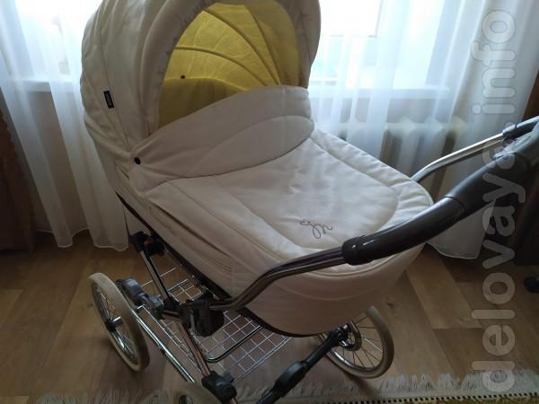 Детская коляска Roan Marita 2 в 1. Очень теплая, практичная и надежна