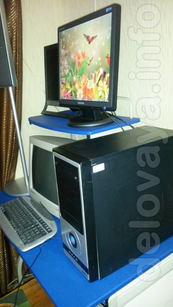 Компьютер 4-х ядерный , ОЗУ-8гб , HDD-500гб , проц.Intel Core (TM) I5